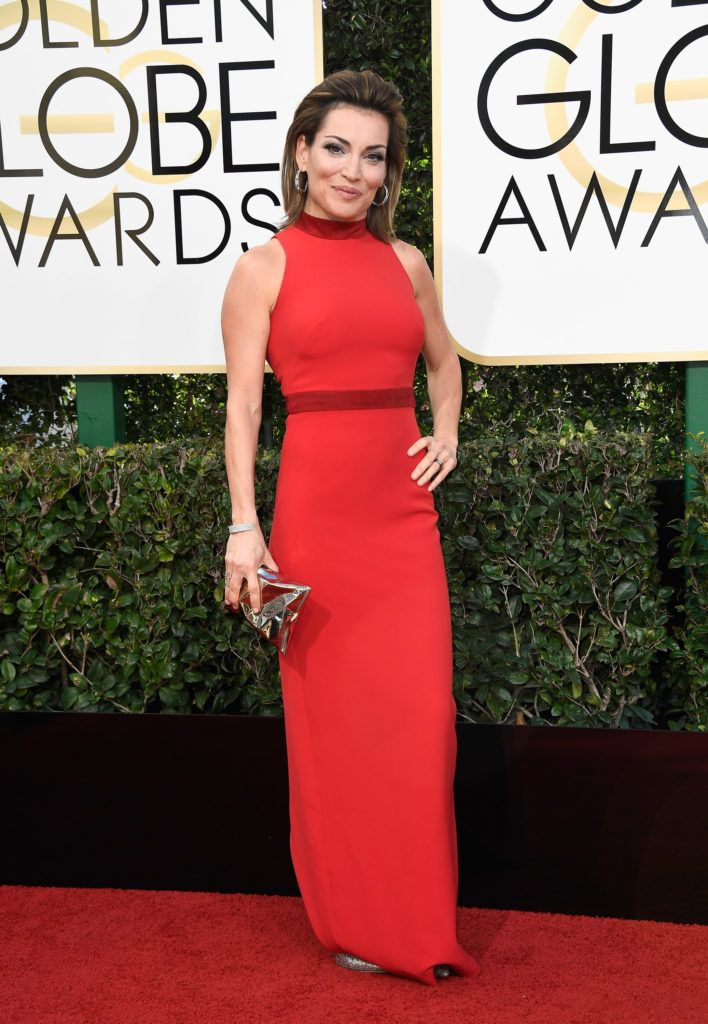 BEVERLY HILLS, CA - JANUARY 08:  TV personality Kit Hoover attends the 74th Annual Golden Globe Awards at The Beverly Hilton Hotel on January 8, 2017 in Beverly Hills, California.  (Photo by Frazer Harrison/Getty Images)