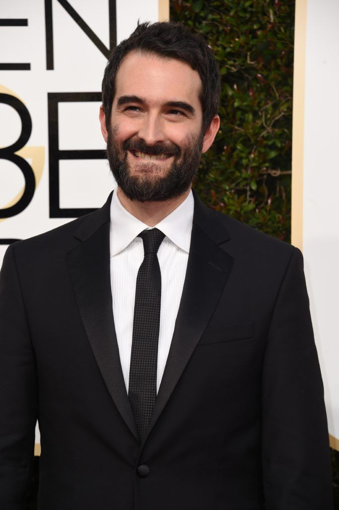Actor Jay Duplass arrives at the 74th annual Golden Globe Awards, January 8, 2017, at the Beverly Hilton Hotel in Beverly Hills, California.  / AFP / VALERIE MACON        (Photo credit should read VALERIE MACON/AFP/Getty Images)