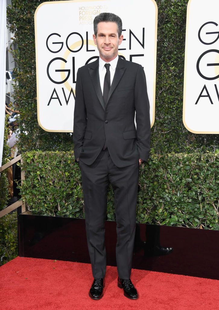 BEVERLY HILLS, CA - JANUARY 08:  Writer/producer Simon Kinberg attends the 74th Annual Golden Globe Awards at The Beverly Hilton Hotel on January 8, 2017 in Beverly Hills, California.  (Photo by Frazer Harrison/Getty Images)