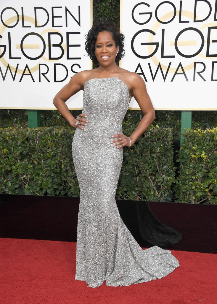 BEVERLY HILLS, CA - JANUARY 08:  Actress Regina King attends the 74th Annual Golden Globe Awards at The Beverly Hilton Hotel on January 8, 2017 in Beverly Hills, California.  (Photo by Frazer Harrison/Getty Images)