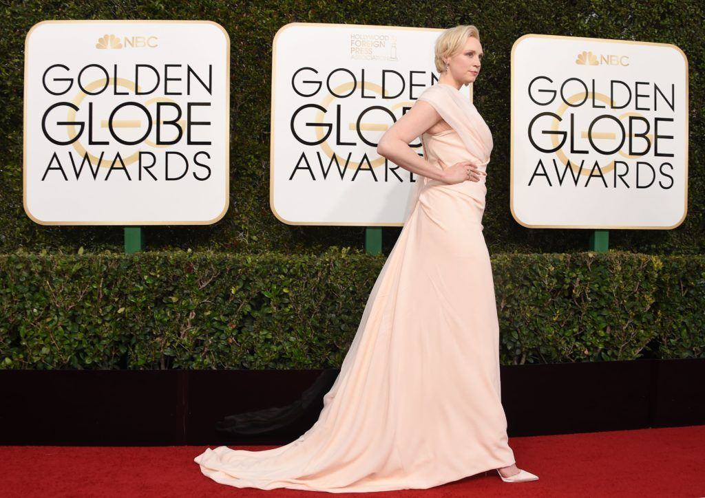 Gwendoline Christie arrives at the 74th annual Golden Globe Awards, January 8, 2017, at the Beverly Hilton Hotel in Beverly Hills, California.  / AFP / VALERIE MACON        (Photo credit should read VALERIE MACON/AFP/Getty Images)