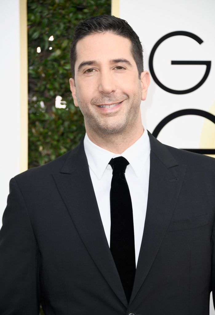 BEVERLY HILLS, CA - JANUARY 08: Actor David Schwimmer attends the 74th Annual Golden Globe Awards at The Beverly Hilton Hotel on January 8, 2017 in Beverly Hills, California.  (Photo by Frazer Harrison/Getty Images)