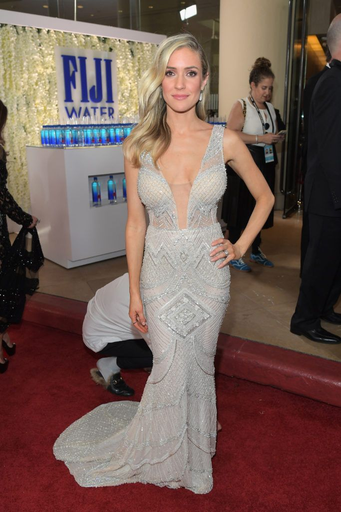 BEVERLY HILLS, CA - JANUARY 08:  Actress Kristin Cavallari at the 74th annual Golden Globe Awards sponsored by FIJI Water at The Beverly Hilton Hotel on January 8, 2017 in Beverly Hills, California.  (Photo by Charley Gallay/Getty Images for FIJI Water)