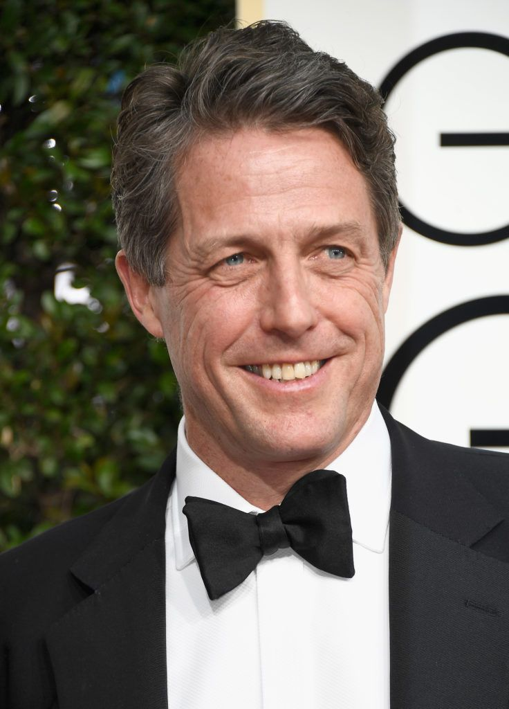BEVERLY HILLS, CA - JANUARY 08: Actor Hugh Grant attends the 74th Annual Golden Globe Awards at The Beverly Hilton Hotel on January 8, 2017 in Beverly Hills, California.  (Photo by Frazer Harrison/Getty Images)