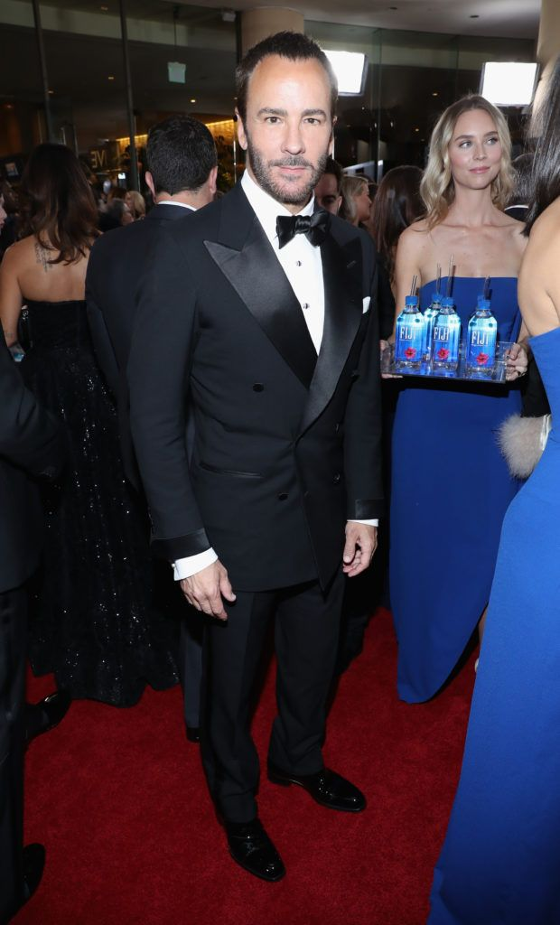 BEVERLY HILLS, CA - JANUARY 08:  Director Tom Ford at the 74th annual Golden Globe Awards sponsored by FIJI Water at The Beverly Hilton Hotel on January 8, 2017 in Beverly Hills, California.  (Photo by Jonathan Leibson/Getty Images for FIJI Water)