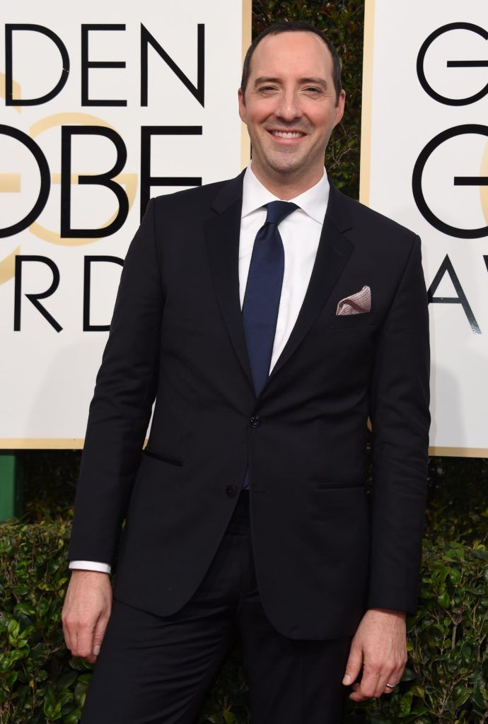 Frazer Harrison arrives at the 74th annual Golden Globe Awards, January 8, 2017, at the Beverly Hilton Hotel in Beverly Hills, California.  / AFP / VALERIE MACON        (Photo credit should read VALERIE MACON/AFP/Getty Images)
