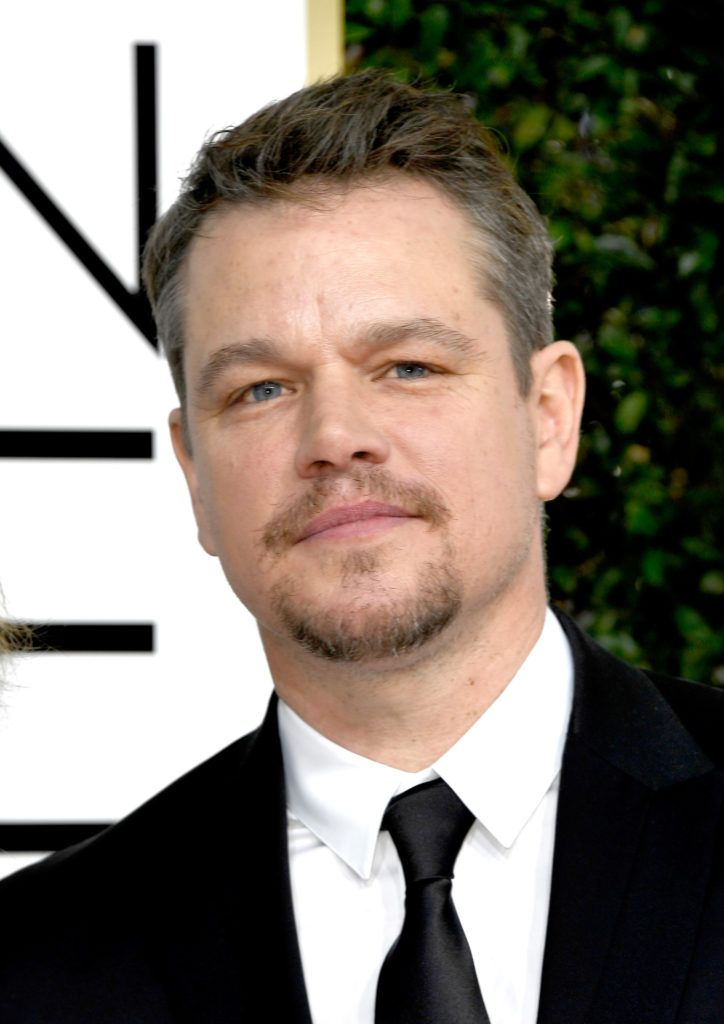 BEVERLY HILLS, CA - JANUARY 08: Actor Matt Damon attends the 74th Annual Golden Globe Awards at The Beverly Hilton Hotel on January 8, 2017 in Beverly Hills, California.  (Photo by Frazer Harrison/Getty Images)