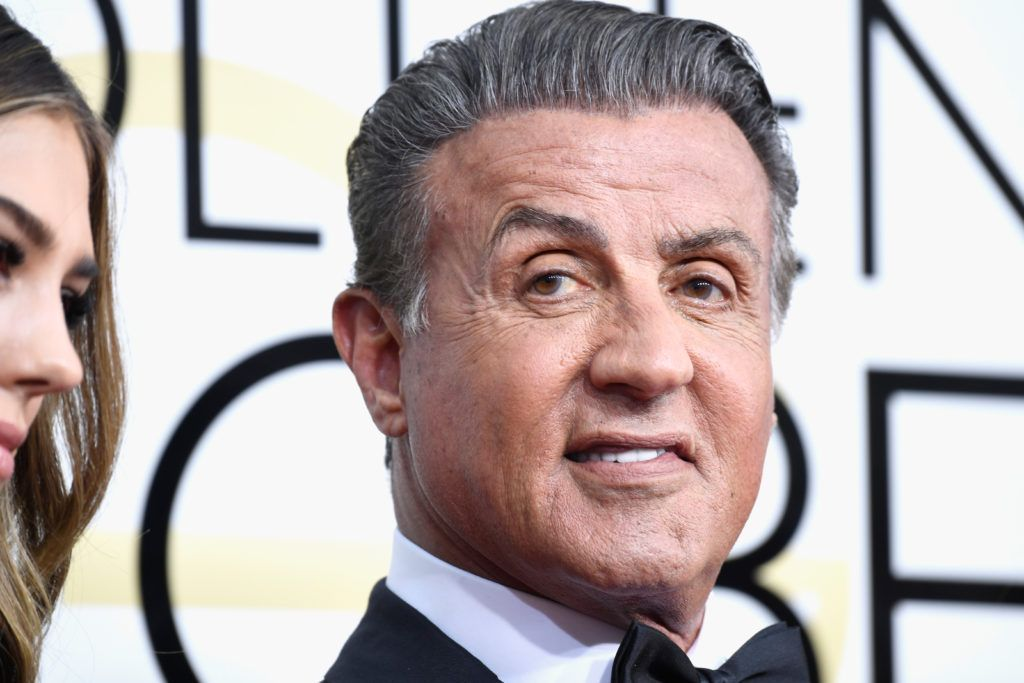 BEVERLY HILLS, CA - JANUARY 08:  Actor Sylvester Stallone attends the 74th Annual Golden Globe Awards at The Beverly Hilton Hotel on January 8, 2017 in Beverly Hills, California.  (Photo by Frazer Harrison/Getty Images)