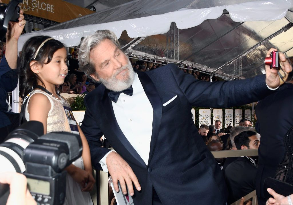 BEVERLY HILLS, CA - JANUARY 08: Actor Jeff Bridges attends the 74th Annual Golden Globe Awards at The Beverly Hilton Hotel on January 8, 2017 in Beverly Hills, California.  (Photo by Frazer Harrison/Getty Images)