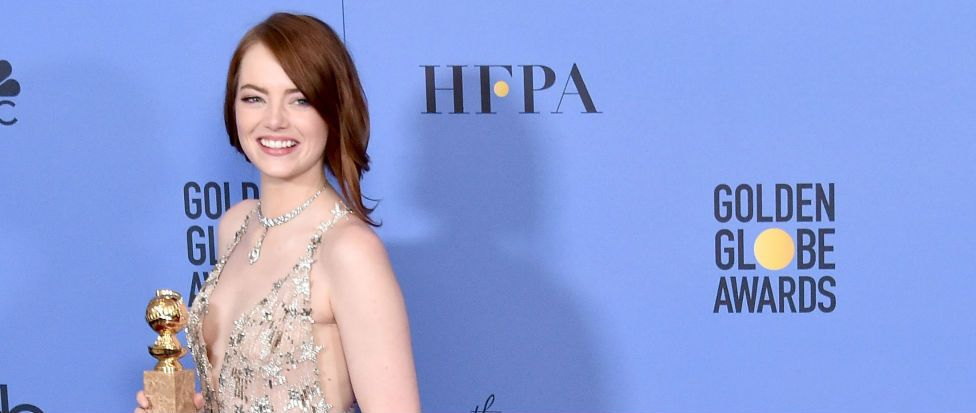 Emma Stone used a budget beauty product for her Golden Globes prep and we NEED one