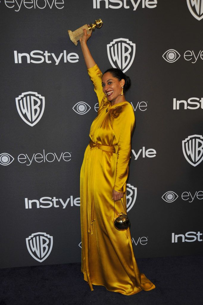 Actress Tracee Ellis Ross attends the 18th Post-Golden Globes Party hosted by Warner Bros. Pictures and InStyle at The Beverly Hilton Hotel on January 8, 2017, in Beverly Hills, California. / AFP / Lilly LAWRENCE        (Photo credit should read LILLY LAWRENCE/AFP/Getty Images)