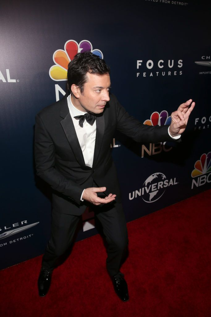 BEVERLY HILLS, CA - JANUARY 08:  Comedian Jimmy Fallon attends NBCUniversal's 74th Annual Golden Globes After Party at The Beverly Hilton Hotel on January 8, 2017 in Beverly Hills, California.  (Photo by Jesse Grant/Getty Images for NBCUniversal)