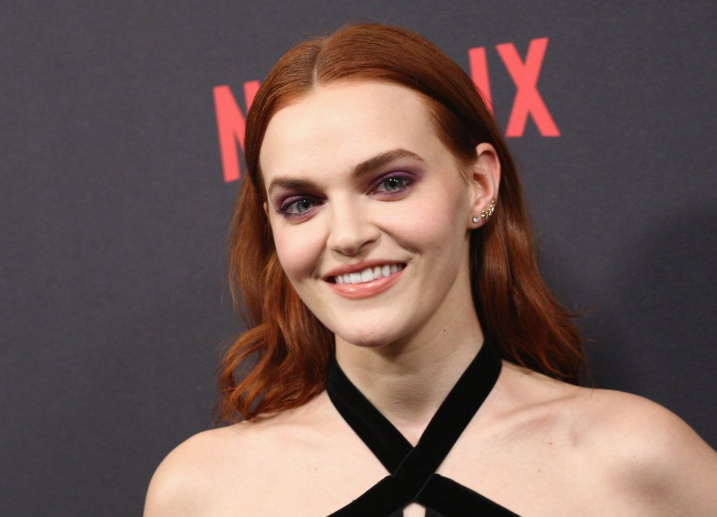 BEVERLY HILLS, CA - JANUARY 08:  Madeline Brewer attends The Weinstein Company and Netflix Golden Globe Party, presented with FIJI Water, Grey Goose Vodka, Lindt Chocolate, and Moroccanoil at The Beverly Hilton Hotel on January 8, 2017 in Beverly Hills, California.  (Photo by Earl Gibson III/Getty Images)
