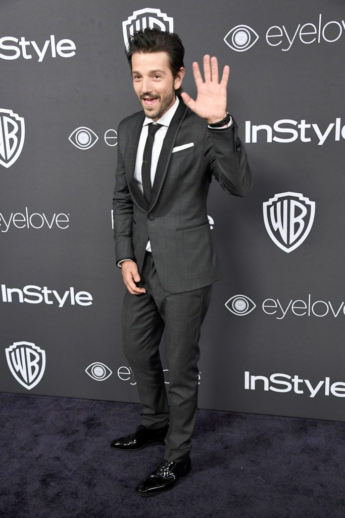 BEVERLY HILLS, CA - JANUARY 08:  Actor Diego Luna attends the 18th Annual Post-Golden Globes Party hosted by Warner Bros. Pictures and InStyle at The Beverly Hilton Hotel on January 8, 2017 in Beverly Hills, California.  (Photo by Frazer Harrison/Getty Images)