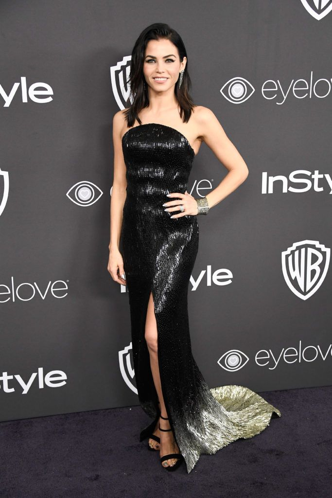 BEVERLY HILLS, CA - JANUARY 08:  Actress Jenna Dewan Tatum attends the 18th Annual Post-Golden Globes Party hosted by Warner Bros. Pictures and InStyle at The Beverly Hilton Hotel on January 8, 2017 in Beverly Hills, California.  (Photo by Frazer Harrison/Getty Images)