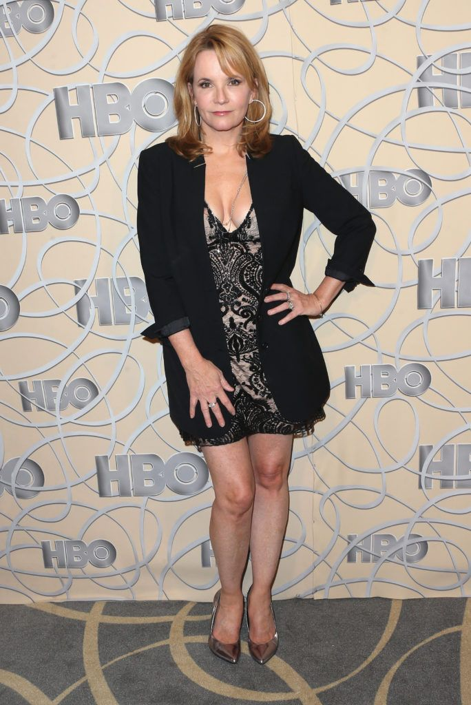 BEVERLY HILLS, CA - JANUARY 08:  Actress Lea Thompson attends HBO's Official Golden Globe Awards After Party at Circa 55 Restaurant on January 8, 2017 in Beverly Hills, California.  (Photo by Frederick M. Brown/Getty Images)