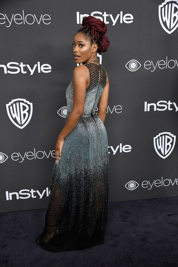 BEVERLY HILLS, CA - JANUARY 08:  Actress Keke Palmer attends the 18th Annual Post-Golden Globes Party hosted by Warner Bros. Pictures and InStyle at The Beverly Hilton Hotel on January 8, 2017 in Beverly Hills, California.  (Photo by Frazer Harrison/Getty Images)