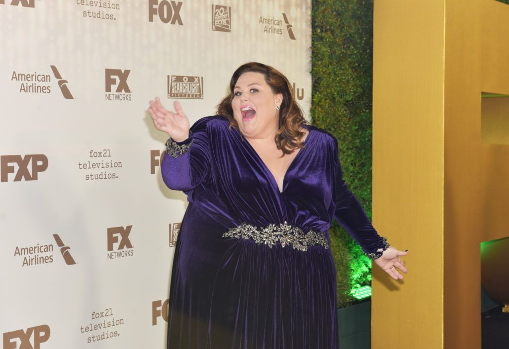 BEVERLY HILLS, CA - JANUARY 08: Actress Chrissy Metz attends FOX and FX's 2017 Golden Globe Awards after party at The Beverly Hilton Hotel on January 8, 2017 in Beverly Hills, California.  (Photo by Rodin Eckenroth/Getty Images)