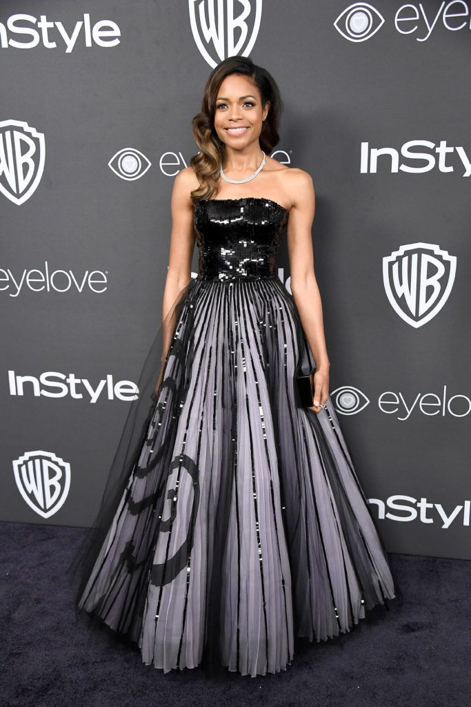 BEVERLY HILLS, CA - JANUARY 08:  Actress Naomie Harris attends the 18th Annual Post-Golden Globes Party hosted by Warner Bros. Pictures and InStyle at The Beverly Hilton Hotel on January 8, 2017 in Beverly Hills, California.  (Photo by Frazer Harrison/Getty Images)