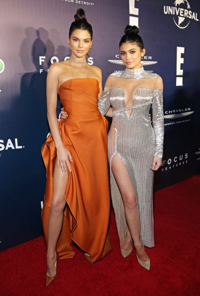 BEVERLY HILLS, CA - JANUARY 08:  Kendall Jenner and Kylie Jenner attend NBCUniversal's 74th Annual Golden Globes After Party at The Beverly Hilton Hotel on January 8, 2017 in Beverly Hills, California.  (Photo by Loreen Sarkis/Getty Images)