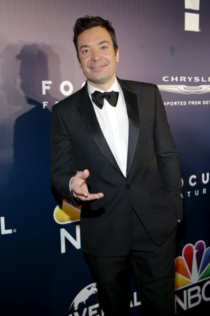 BEVERLY HILLS, CA - JANUARY 08: Comdeian Jimmy Fallon attends NBCUniversal's 74th Annual Golden Globes After Party at The Beverly Hilton Hotel on January 8, 2017 in Beverly Hills, California.  (Photo by Loreen Sarkis/Getty Images)