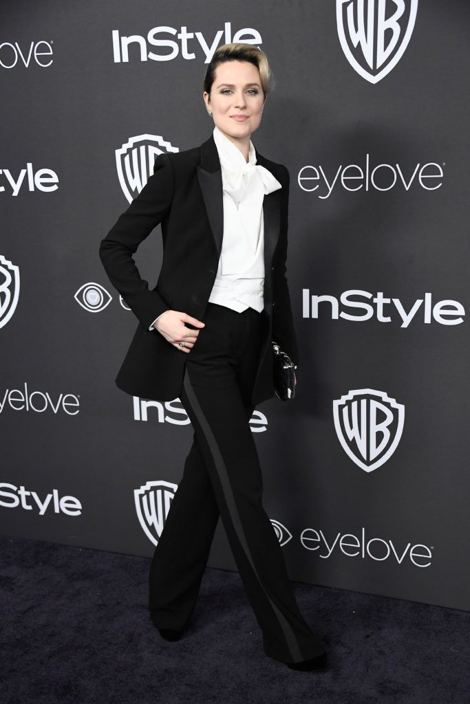 BEVERLY HILLS, CA - JANUARY 08:  Actress Evan Rachel Wood attends the 18th Annual Post-Golden Globes Party hosted by Warner Bros. Pictures and InStyle at The Beverly Hilton Hotel on January 8, 2017 in Beverly Hills, California.  (Photo by Frazer Harrison/Getty Images)