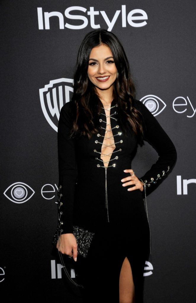 BEVERLY HILLS, CA - JANUARY 08:  Actress Victoria Justice attends The 2017 InStyle and Warner Bros. 73rd Annual Golden Globe Awards Post-Party at The Beverly Hilton Hotel on January 8, 2017 in Beverly Hills, California.  (Photo by John Sciulli/Getty Images for InStyle)