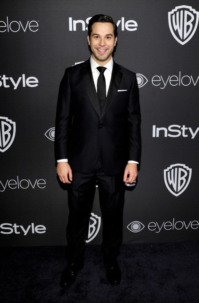 BEVERLY HILLS, CA - JANUARY 08:  Skylar Astin attends The 2017 InStyle and Warner Bros. 73rd Annual Golden Globe Awards Post-Party at The Beverly Hilton Hotel on January 8, 2017 in Beverly Hills, California.  (Photo by John Sciulli/Getty Images for InStyle)