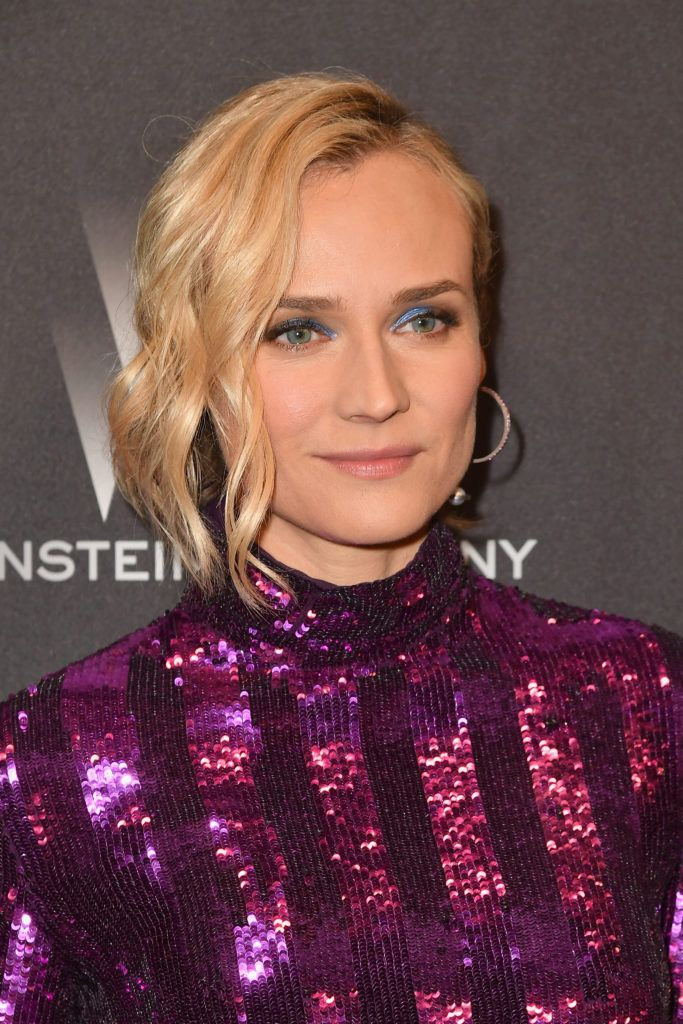 BEVERLY HILLS, CA - JANUARY 08:  Actress Diane Kruger attends The Weinstein Company and Netflix Golden Globe Party, presented with FIJI Water, Grey Goose Vodka, Lindt Chocolate, and Moroccanoil at The Beverly Hilton Hotel on January 8, 2017 in Beverly Hills, California.  (Photo by Earl Gibson III/Getty Images)