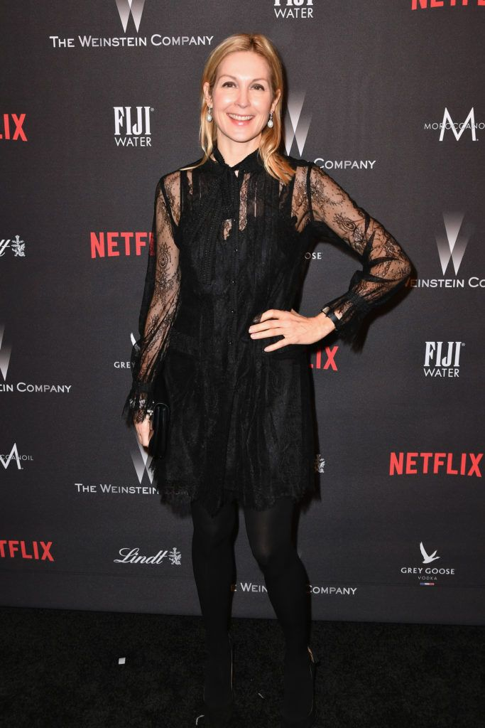BEVERLY HILLS, CA - JANUARY 08:  Kelly Rutherford attends The Weinstein Company and Netflix Golden Globe Party, presented with FIJI Water, Grey Goose Vodka, Lindt Chocolate, and Moroccanoil at The Beverly Hilton Hotel on January 8, 2017 in Beverly Hills, California.  (Photo by Earl Gibson III/Getty Images)