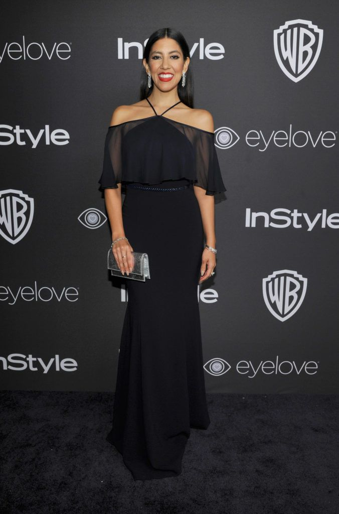 BEVERLY HILLS, CA - JANUARY 08:  Actress Stephanie Beatriz attends The 2017 InStyle and Warner Bros. 73rd Annual Golden Globe Awards Post-Party at The Beverly Hilton Hotel on January 8, 2017 in Beverly Hills, California.  (Photo by John Sciulli/Getty Images for InStyle)
