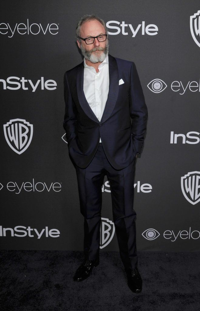 BEVERLY HILLS, CA - JANUARY 08:  Actor Liam Cunningham attends The 2017 InStyle and Warner Bros. 73rd Annual Golden Globe Awards Post-Party at The Beverly Hilton Hotel on January 8, 2017 in Beverly Hills, California.  (Photo by John Sciulli/Getty Images for InStyle)