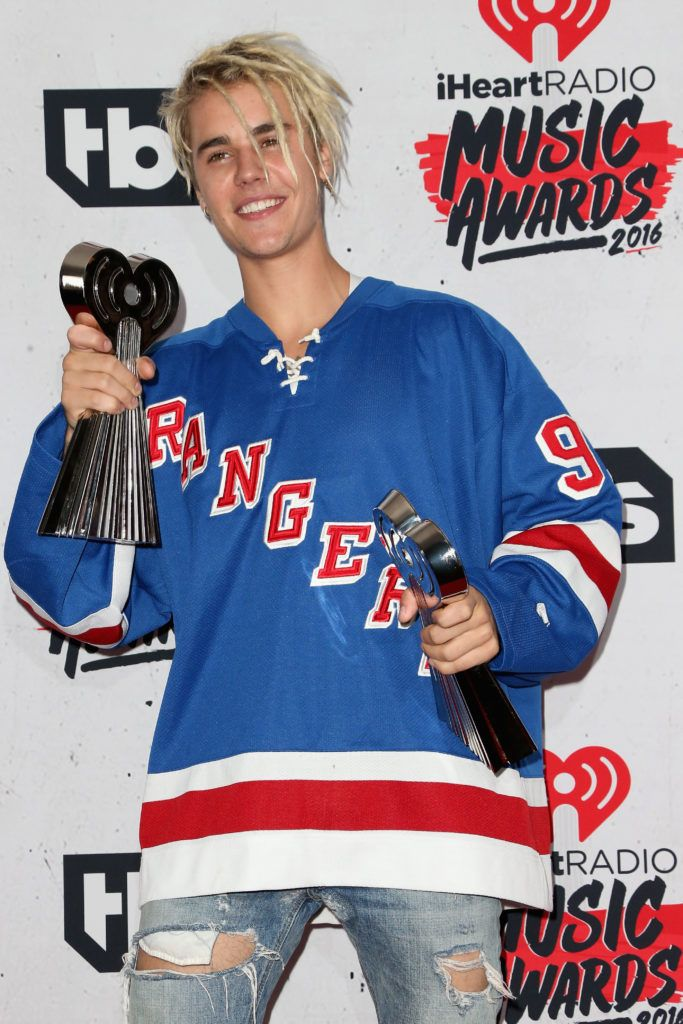 Justin Bieber in 2016 (Photo by Frederick M. Brown/Getty Images)