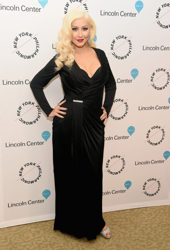 Christina Aguilera in 2015 (Photo by Michael Loccisano/Getty Images)