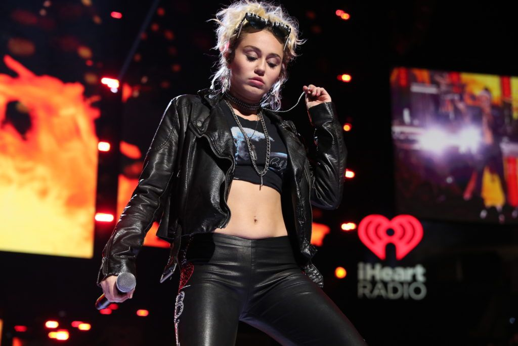 Miley Cyrus in 2016 (Photo by Christopher Polk/Getty Images for iHeartMedia)