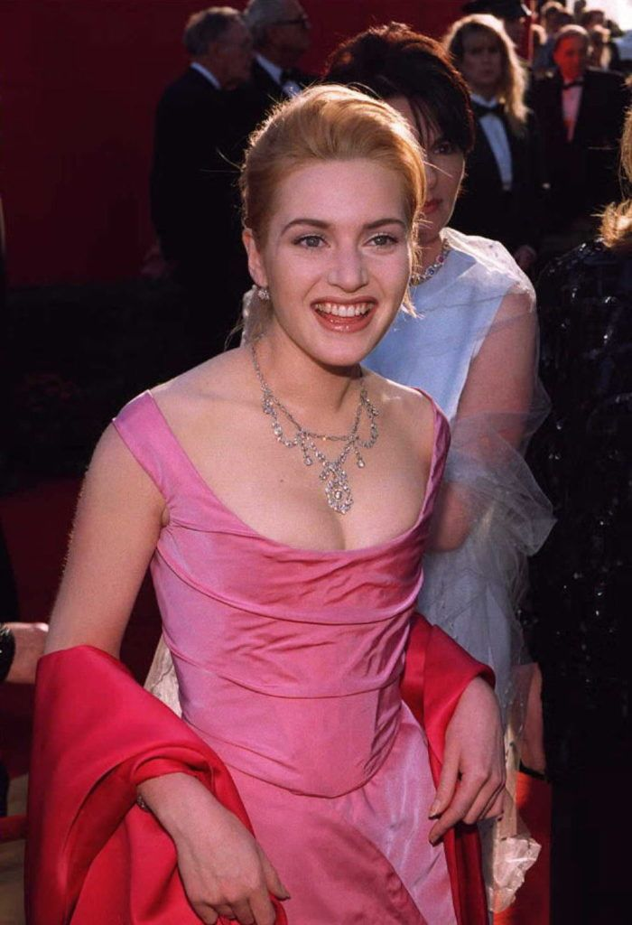 Kate Winslet in 1996 (Photo Vince Bucci/AFP/Getty Images)