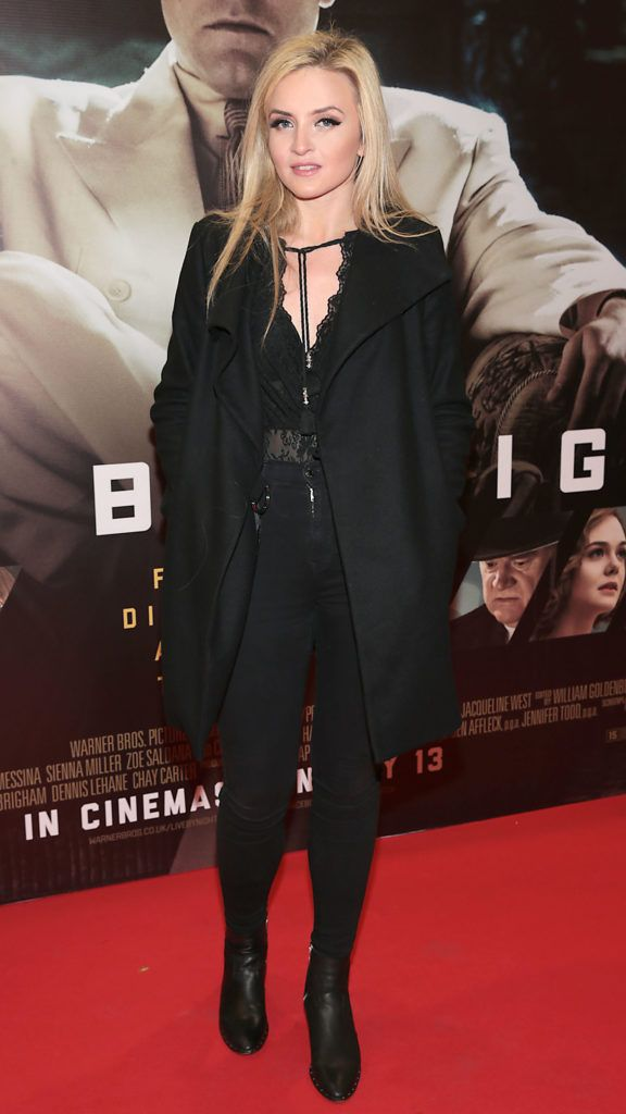 Claire Fay at the Irish premiere screening of Ben Affleck's new film  Live by  Night at the Savoy Cinema, Dublin.  Picture:Brian McEvoy