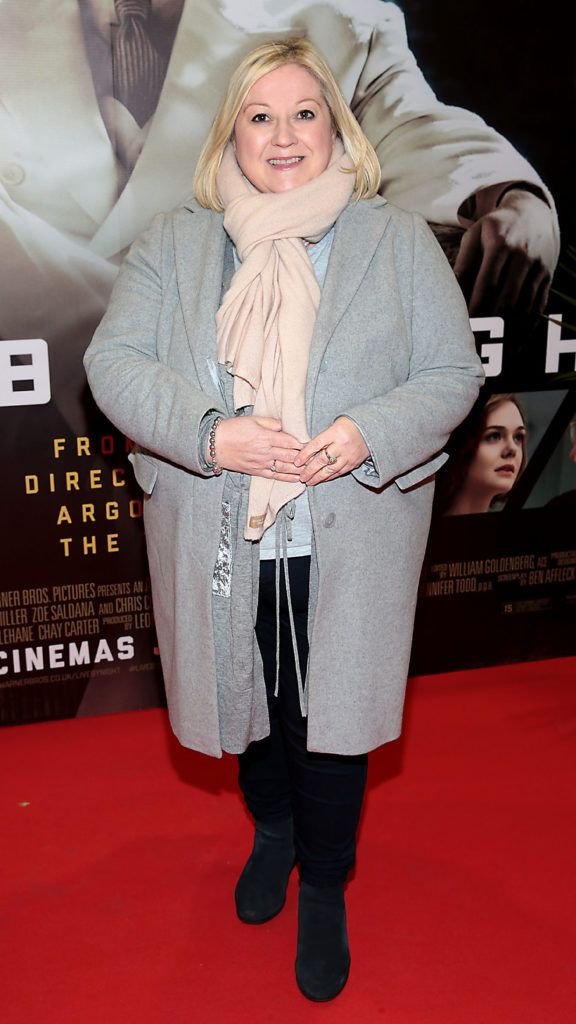 Carmel Breheney at the Irish premiere screening of Ben Affleck's new film  Live by  Night at the Savoy Cinema, Dublin.  Picture:Brian McEvoy