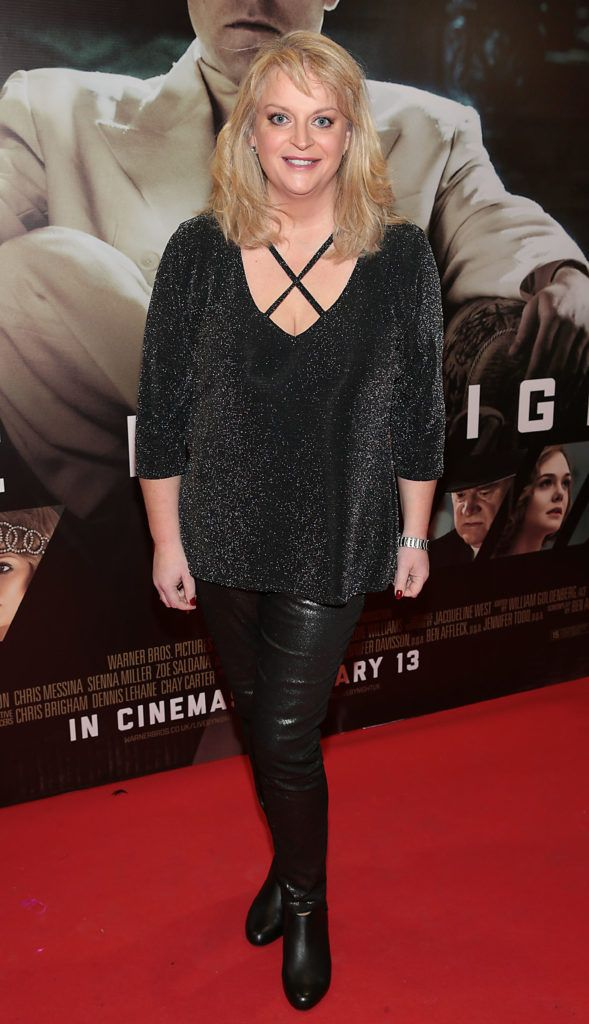 Rosemary Walsh at the Irish premiere screening of Ben Affleck's new film  Live by  Night at the Savoy Cinema, Dublin.  Picture:Brian McEvoy