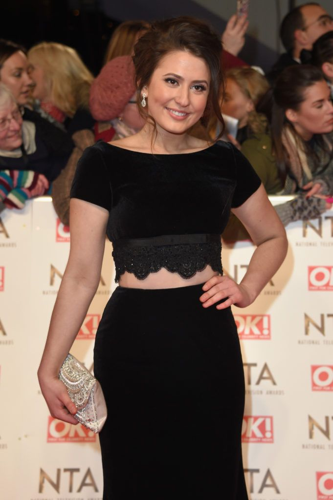 LONDON, ENGLAND - JANUARY 25:  Guest attend the National Television Awards on January 25, 2017 in London, United Kingdom.  (Photo by Anthony Harvey/Getty Images)