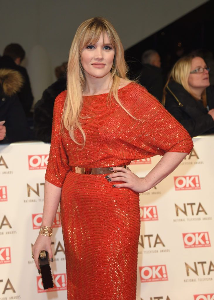 LONDON, ENGLAND - JANUARY 25: Emerald Fennell attends the National Television Awards on January 25, 2017 in London, United Kingdom.  (Photo by Anthony Harvey/Getty Images)