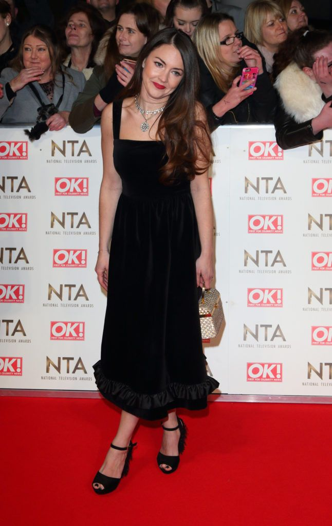 National Television Awards at The O2, Peninsula Square in London - Red carpet arrivals  Featuring: Lacey Turner Where: London, United Kingdom When: 25 Jan 2017 Credit: WENN.com