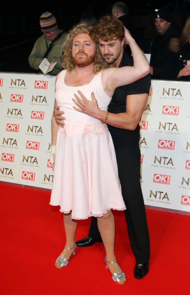 National Television Awards at The O2, Peninsula Square in London - Red carpet arrivals  Featuring: Leigh Francis, Paddy McGuinness Where: London, United Kingdom When: 25 Jan 2017 Credit: WENN.com