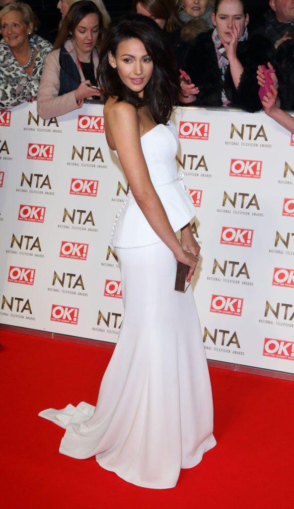 National Television Awards at The O2, Peninsula Square in London - Red carpet arrivals  Featuring: Michelle Keegan Where: London, United Kingdom When: 25 Jan 2017 Credit: WENN.com
