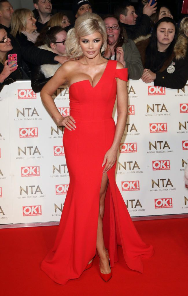 National Television Awards at The O2, Peninsula Square in London - Red carpet arrivals  Featuring: Chloe Sims Where: London, United Kingdom When: 25 Jan 2017 Credit: WENN.com