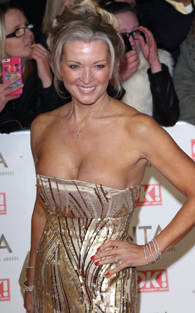 National Television Awards at The O2, Peninsula Square in London - Red carpet arrivals  Featuring: Gillian Taylforth Where: London, United Kingdom When: 25 Jan 2017 Credit: WENN.com