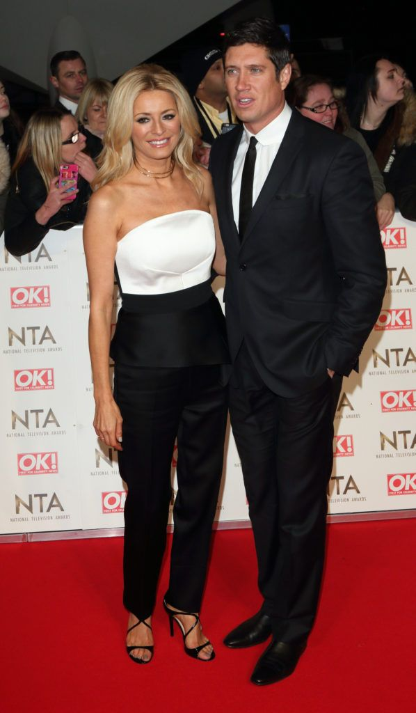 National Television Awards at The O2, Peninsula Square in London - Red carpet arrivals  Featuring: Tess Daly Where: London, United Kingdom When: 25 Jan 2017 Credit: WENN.com