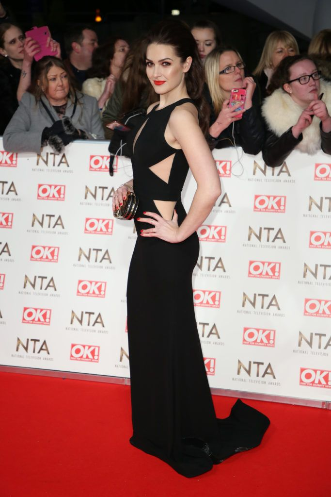 The National Television Awards 2017 (NTA's) held at the O2 Arena - Arrivals  Featuring: Anna Passey Where: London, United Kingdom When: 25 Jan 2017 Credit: Lia Toby/WENN.com
