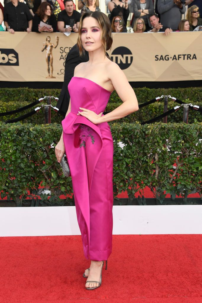 LOS ANGELES, CA - JANUARY 29:  Actor Sophia Bush attends The 23rd Annual Screen Actors Guild Awards at The Shrine Auditorium on January 29, 2017 in Los Angeles, California. 26592_008  (Photo by Frazer Harrison/Getty Images)