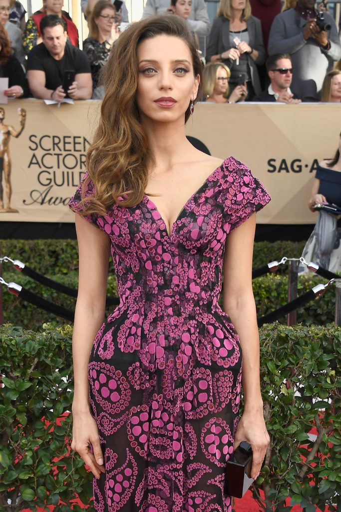 LOS ANGELES, CA - JANUARY 29:  Actor Angela Sarafyan attends The 23rd Annual Screen Actors Guild Awards at The Shrine Auditorium on January 29, 2017 in Los Angeles, California. 26592_008  (Photo by Frazer Harrison/Getty Images)